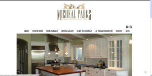 Micheal Parks Construction Web Page