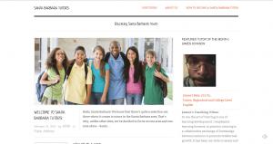 Santa Barbara Tutors Website