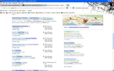 Google Search Santa Barbara Painters