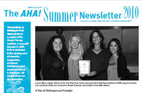 AHA! Summer Newsletter