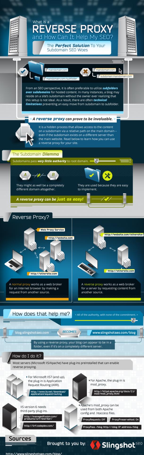Reverse Proxy Infographic