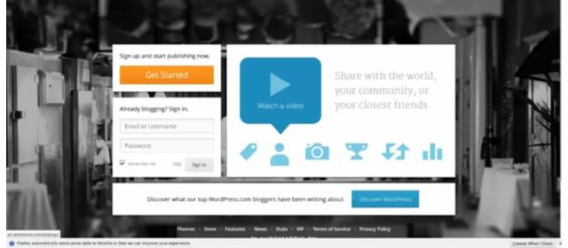 How to Obtain a Free WordPress.com Site