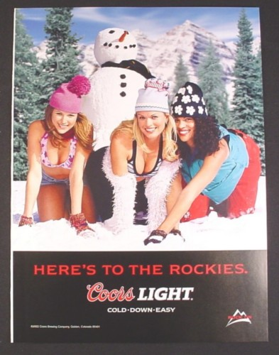 Coors Light Ad