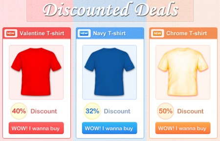 Discounted deals